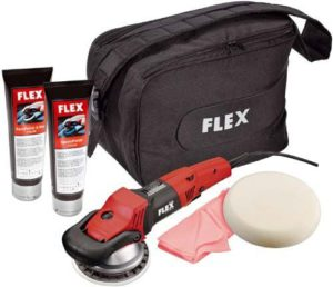 FLEX XC 3401 Set im Poliermaschine Test
