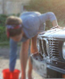 Auto selbst waschen Anleitung